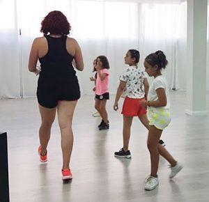 clases infantiles en gimnasio en sant andreu de la barca